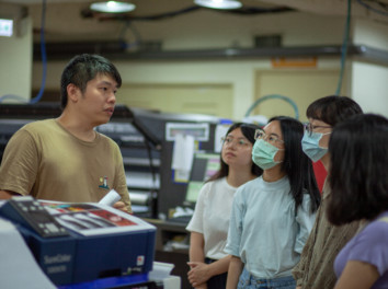 世新大學圖傳系-數位輸出與製作課程參訪